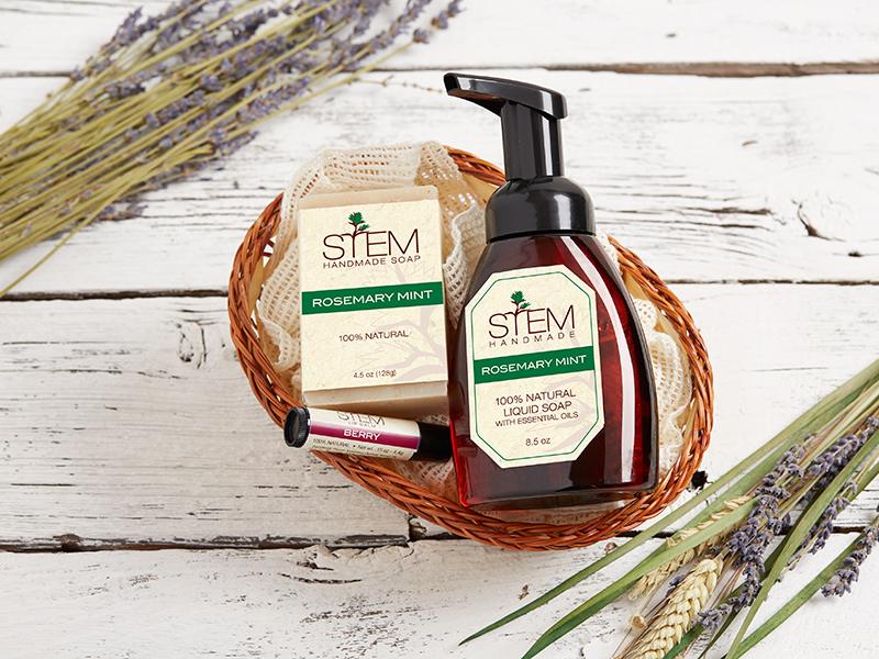 Rosemary Mint Essential Gift Set