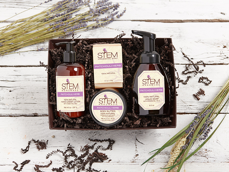 Patchouli Herb Gift Set - Large