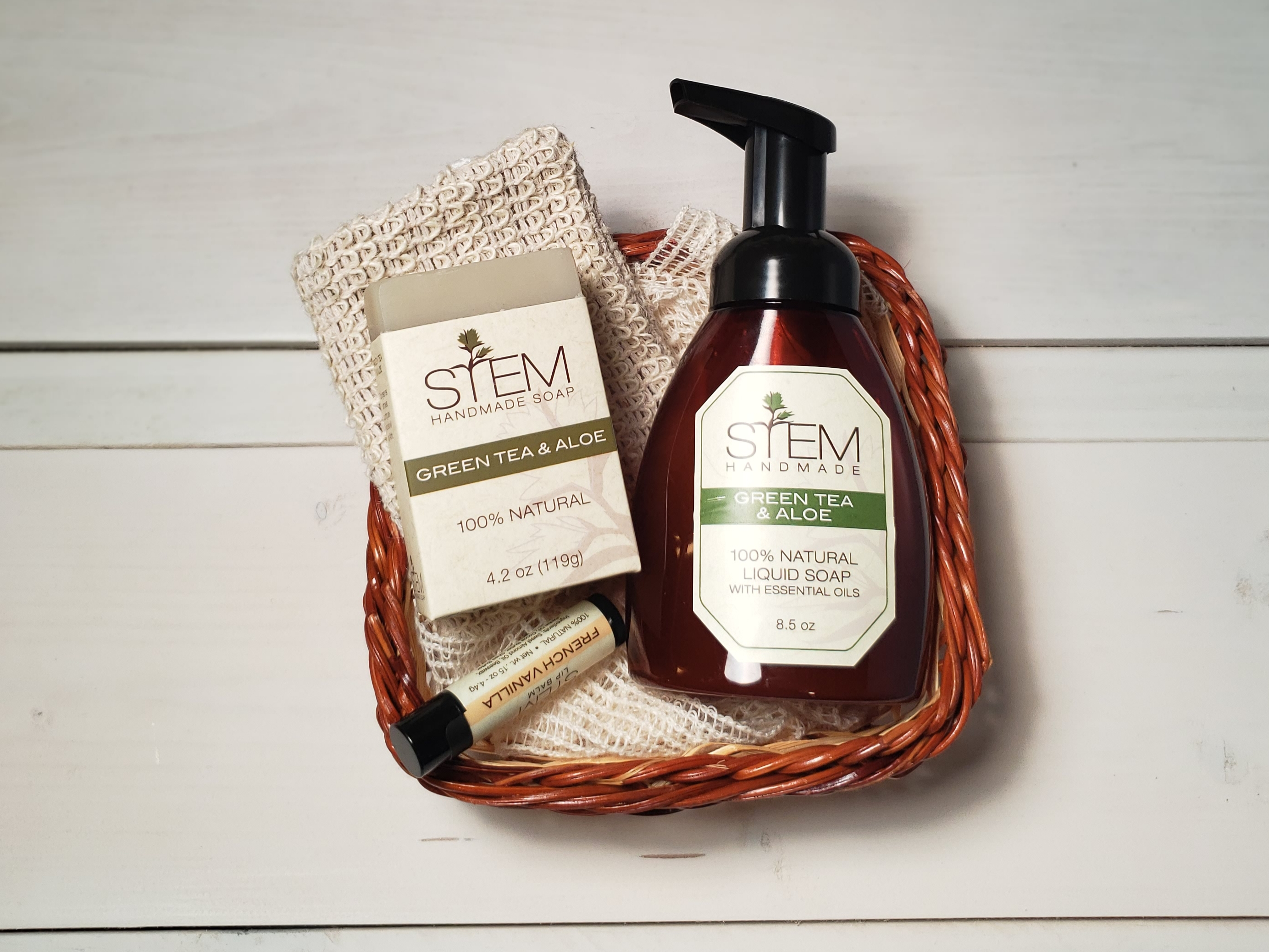 Green Tea & Aloe Essential Gift Set