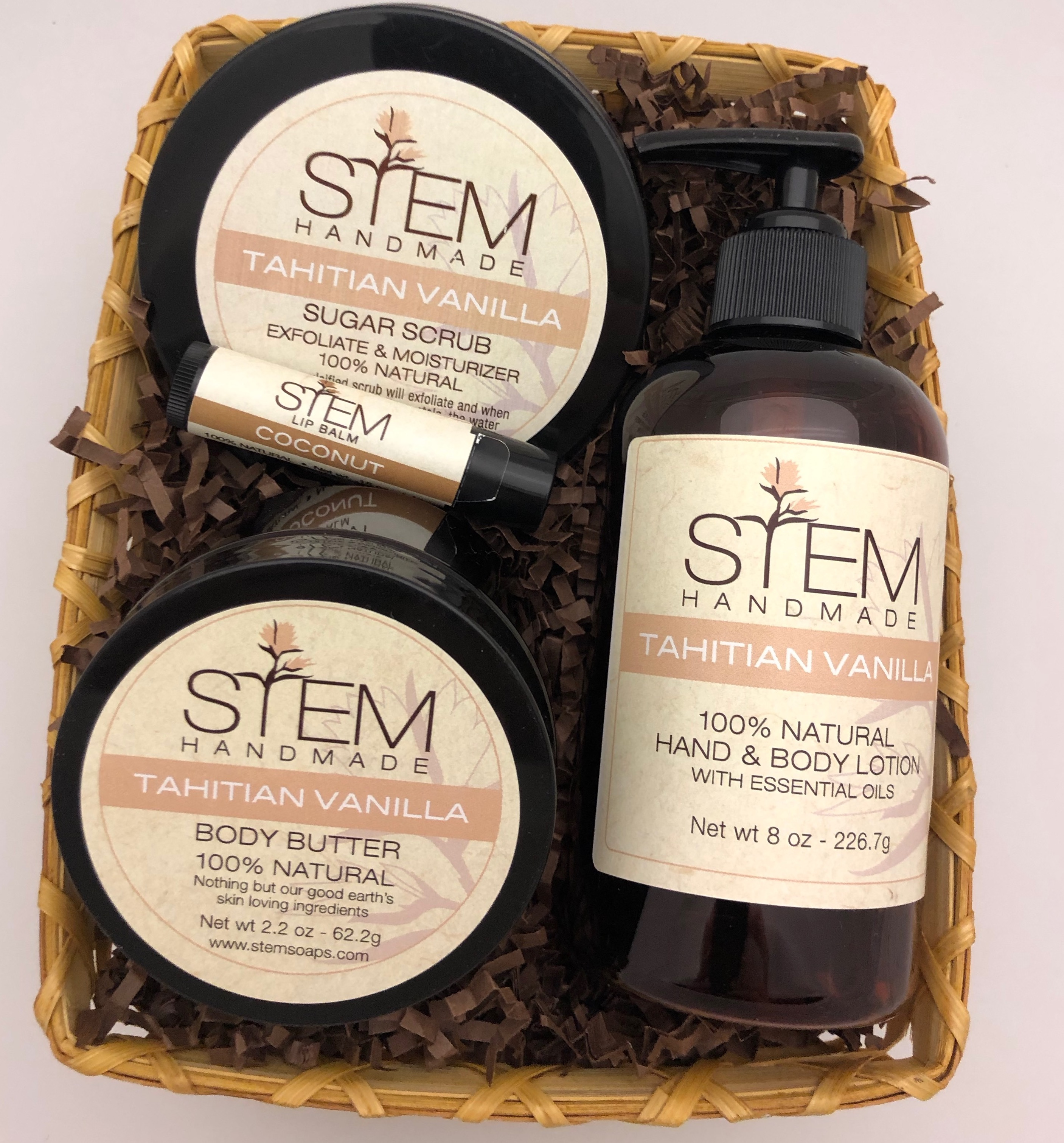 Tahitian Vanilla Winter Skin Care Kit