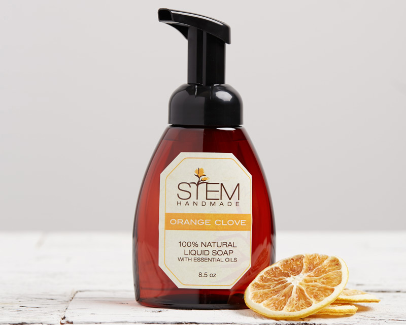 Orange Clove Foam Soap