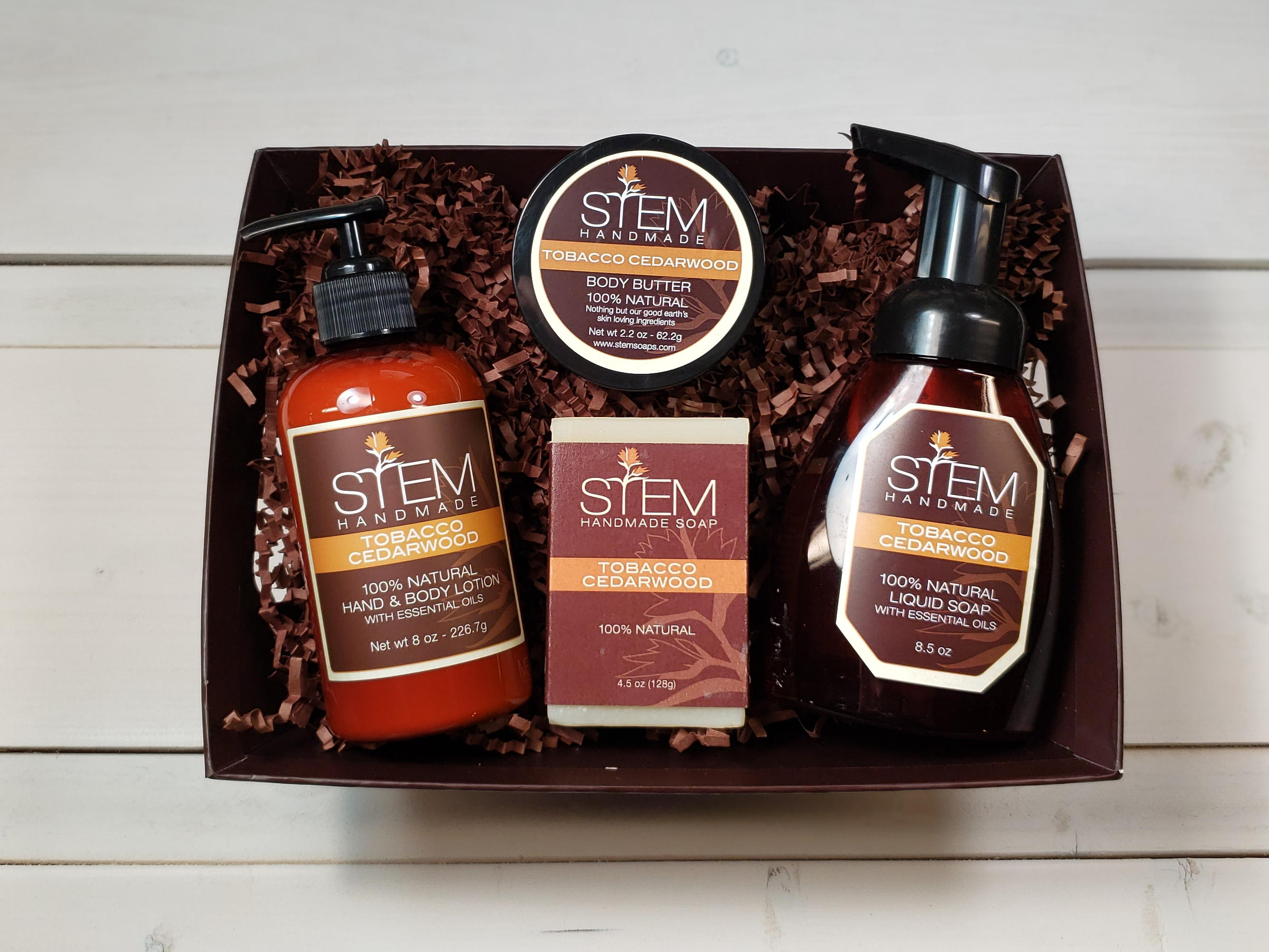 Tobacco Cedarwood Gift Set
